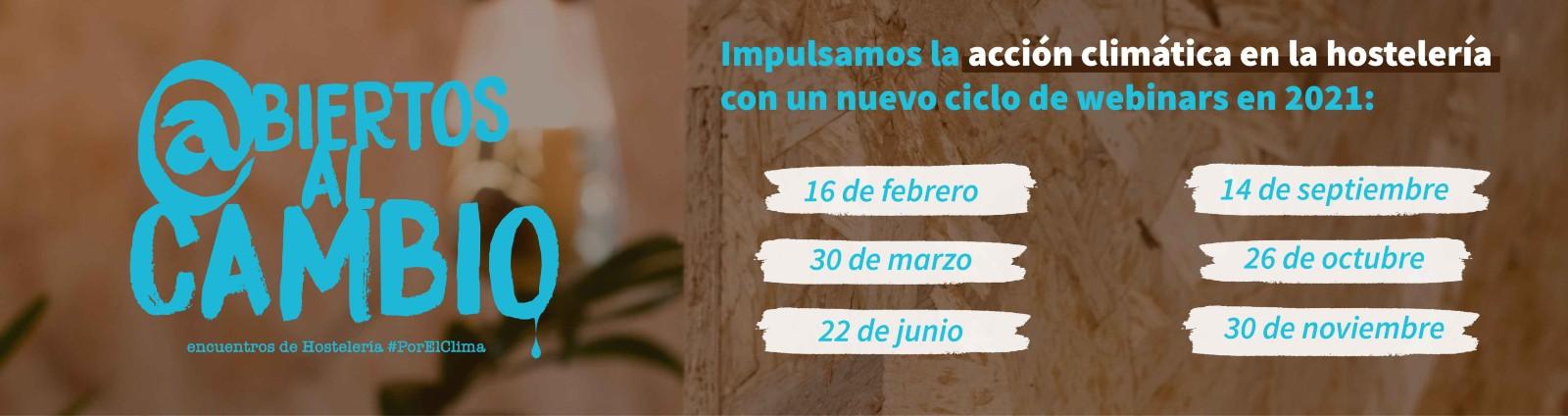 Ciclo de webinars @biertos al cambio